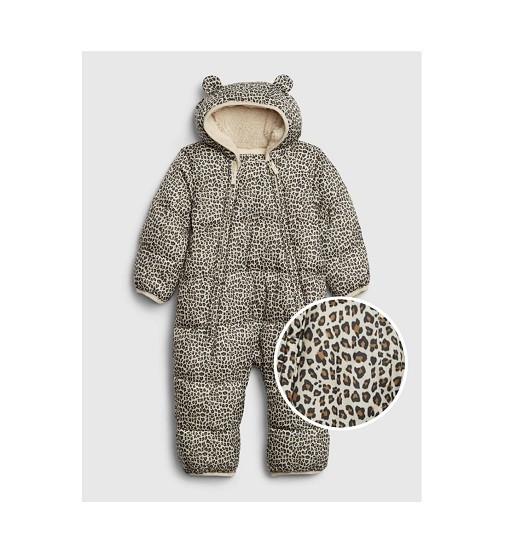 Купити Комбінезон Baby ColdControl Ultra Max Snowsuit Gap (593686 leopard) - фото 1