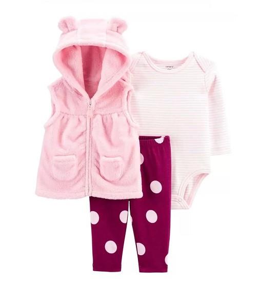 Купити Костюм 3-Piece Bear Little Vest Set Carters (1j203410) - фото 1