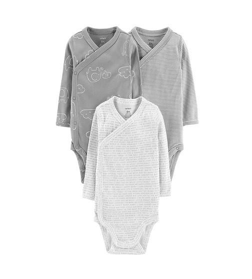 Купити Набір боді 3-Pack Side-Snap Bodysuits - Baby Unisex Carters (126h506) - фото 1