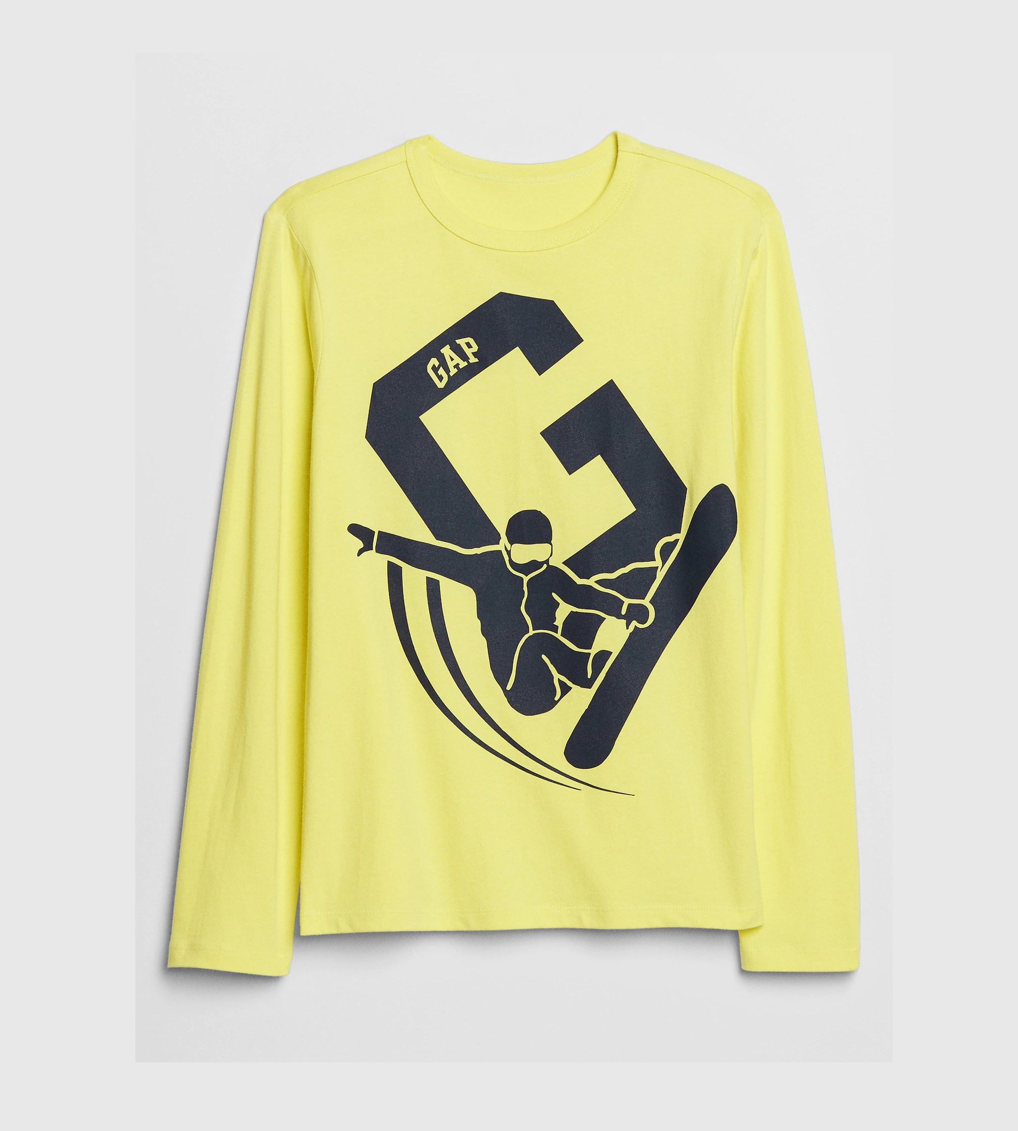 Купити Реглан Gap Скейтборд Graphic T-Shirt: shooting star yellow - фото 1