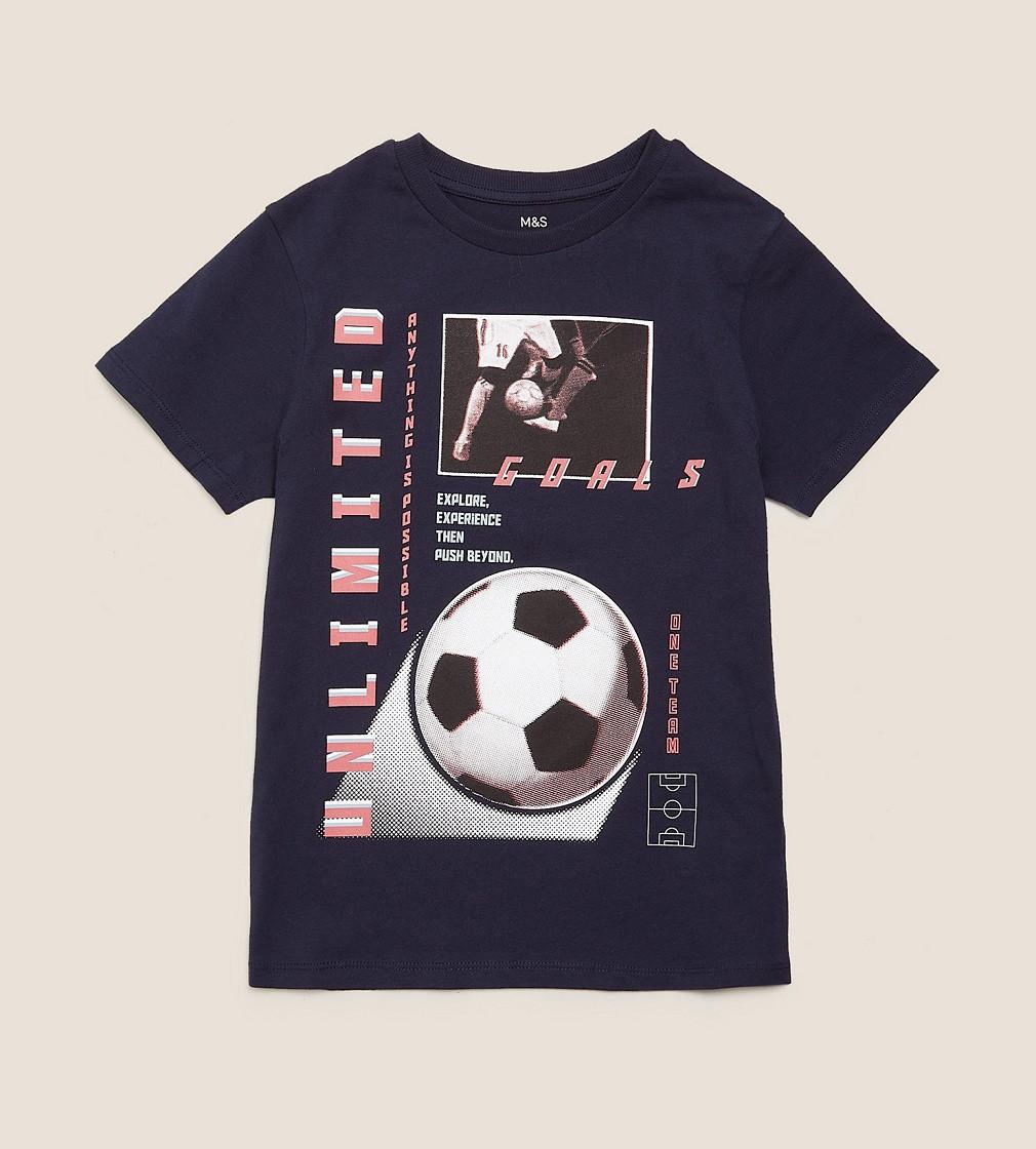 Купити Футболка M&S Football Navy Goals - фото 1