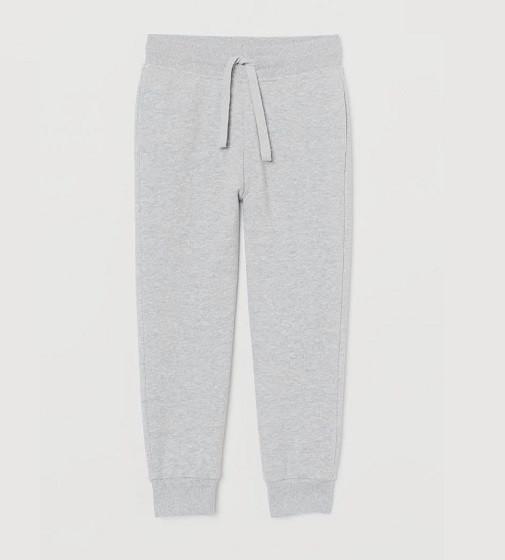 Купити Штани тонкі H&M joggers: Light grey - фото 1