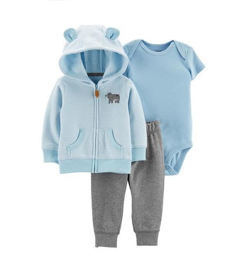 Купити Набір 3в1 Bear Little Jacket Set Carters (18517310) - фото 1