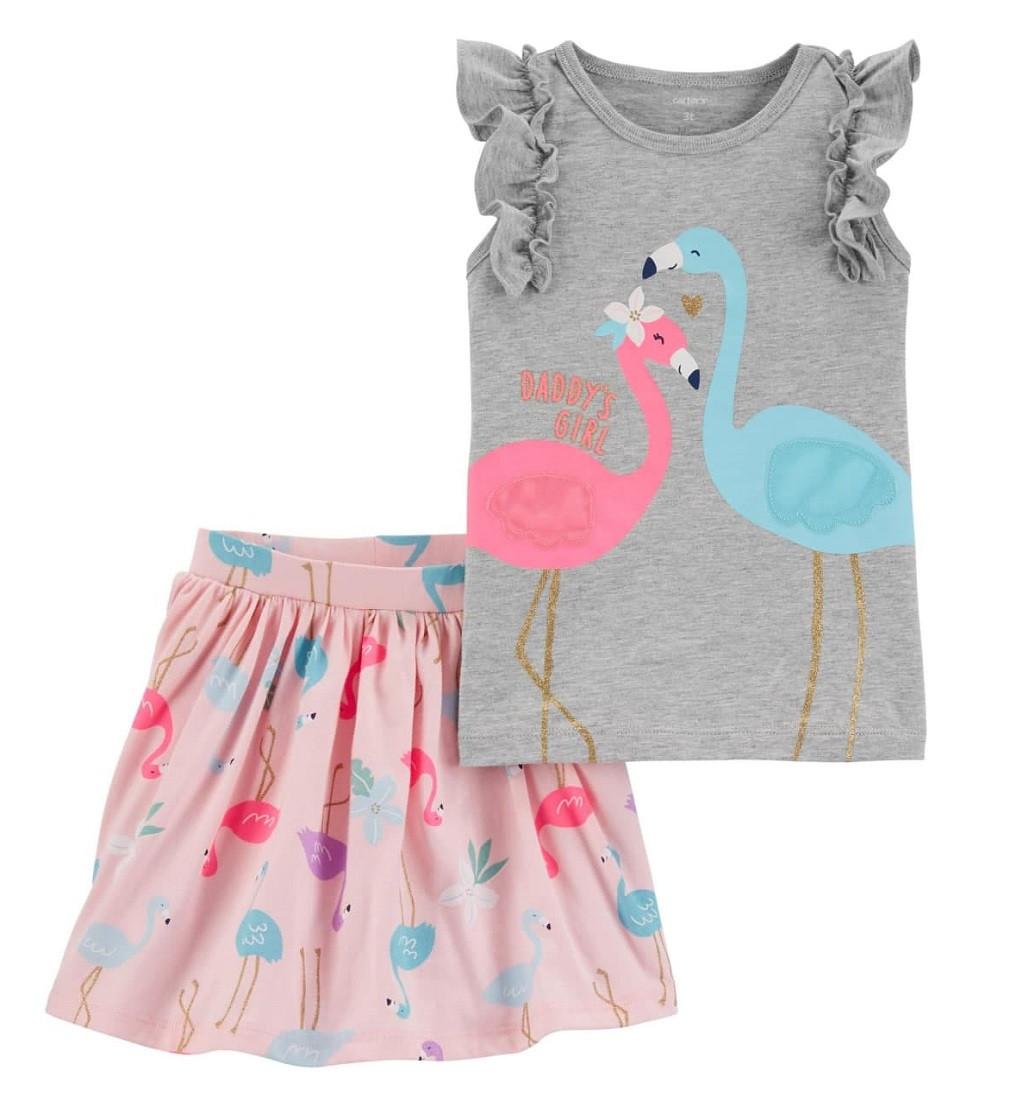 Купити Комплект Carters Flamingo Heather/Pink - фото 1