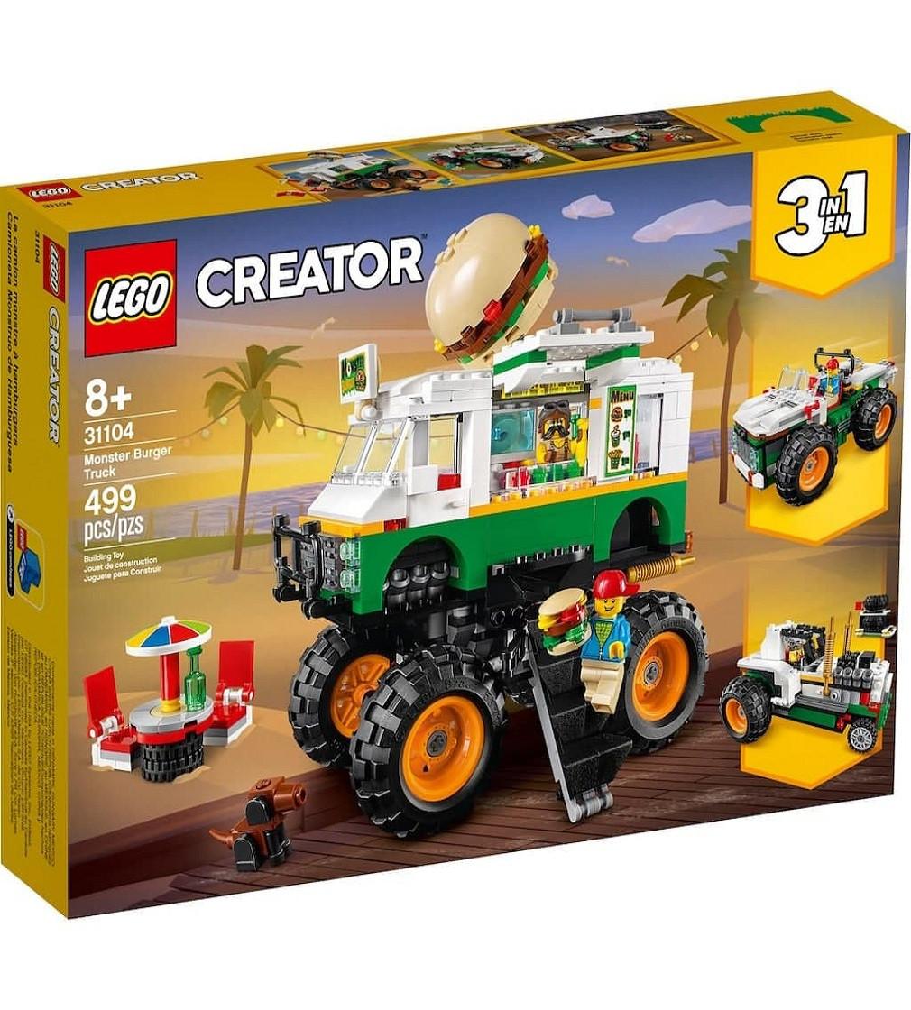 Купити LEGO® Creator Вантажівка-монстр з гамбургерами - фото 1