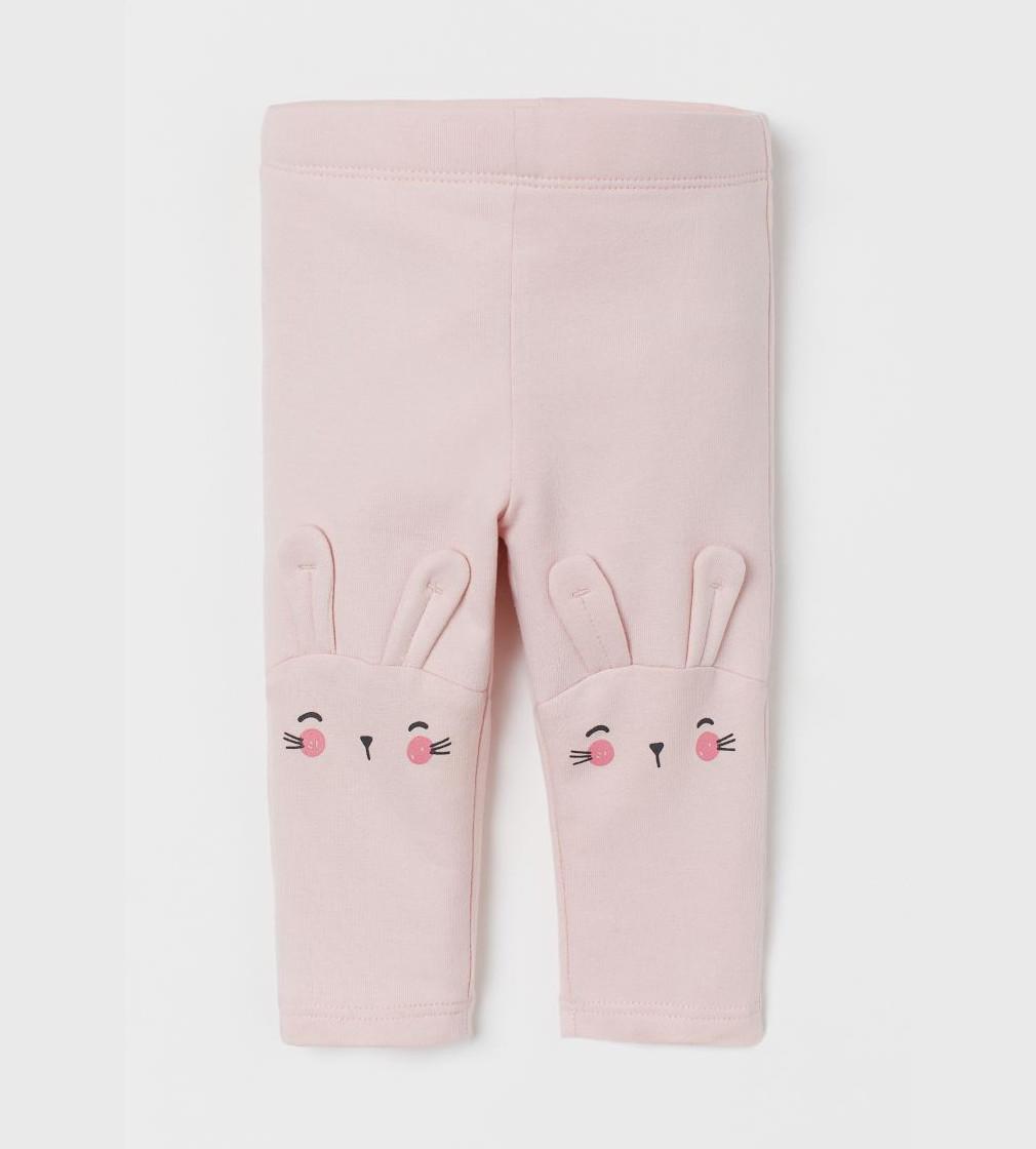 Купити Лосини на махрі H&M Light pink/Rabbit - фото 1