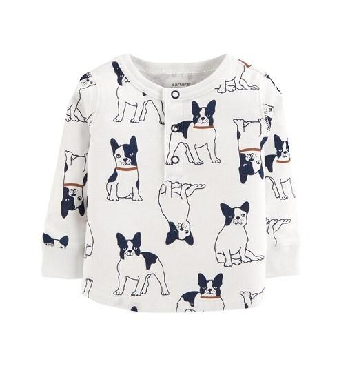 Купити Реглан Carters Long-Sleeve Dog - фото 1