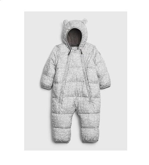 Купити Комбінезон Baby ColdControl Ultra Max Snowsuit Gap (592811 grey) - фото 1