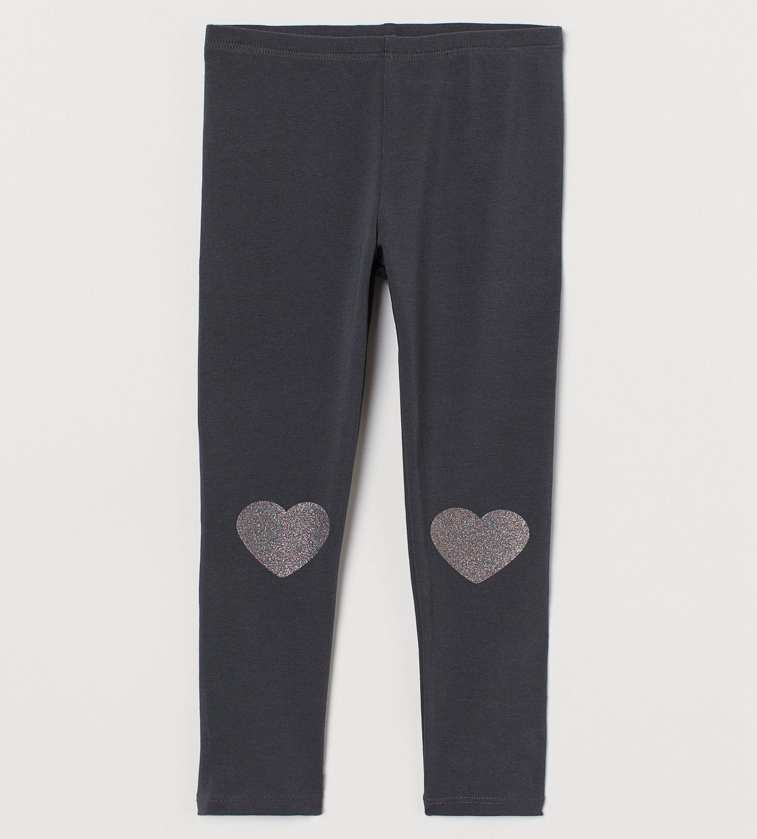 Купити Леггінси H&M Navy blue/Hearts - фото 1