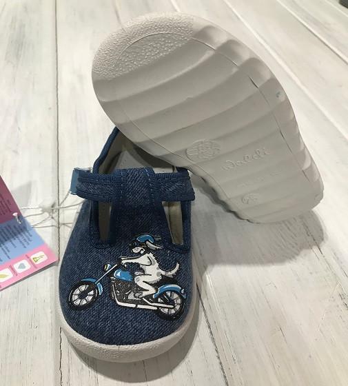 Купити Тапочки Waldi Андрій 60-528 джинс - фото 1