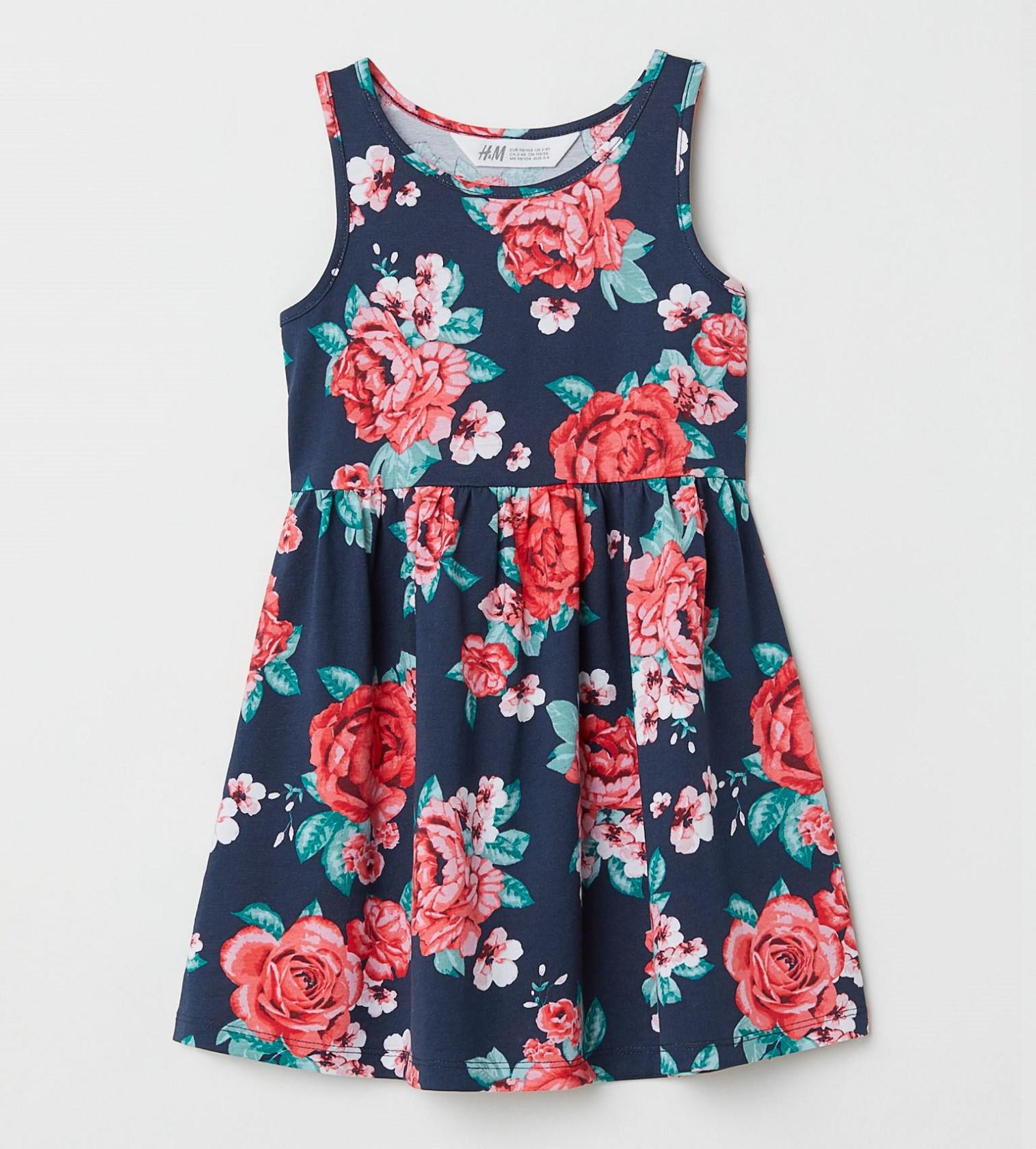 Купити Сарафан H&M Синій / Квіти - фото 1