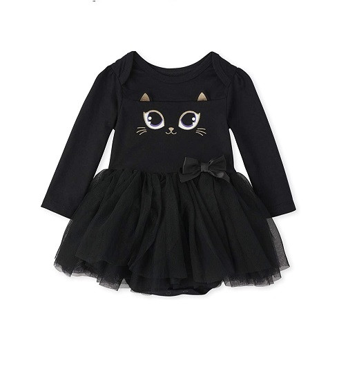 Купити Ошатний бодік Long Sleeve Tutu Bodysuit The Children's Place (3014186) - фото 1