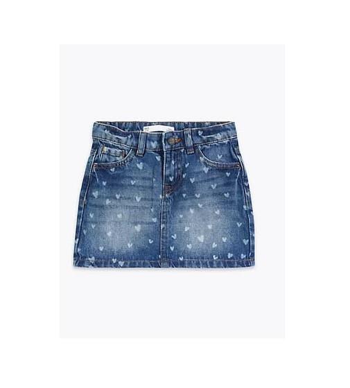 Купити Спідниця джинсова Серденька M&S  t77/3170E - фото 1