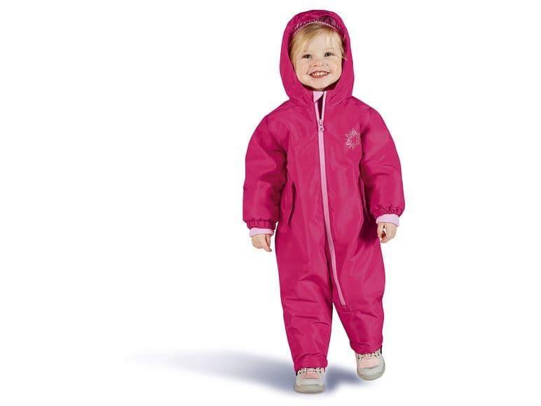 Купити Комбінезон Рожевий біла сніжинка - фото 1