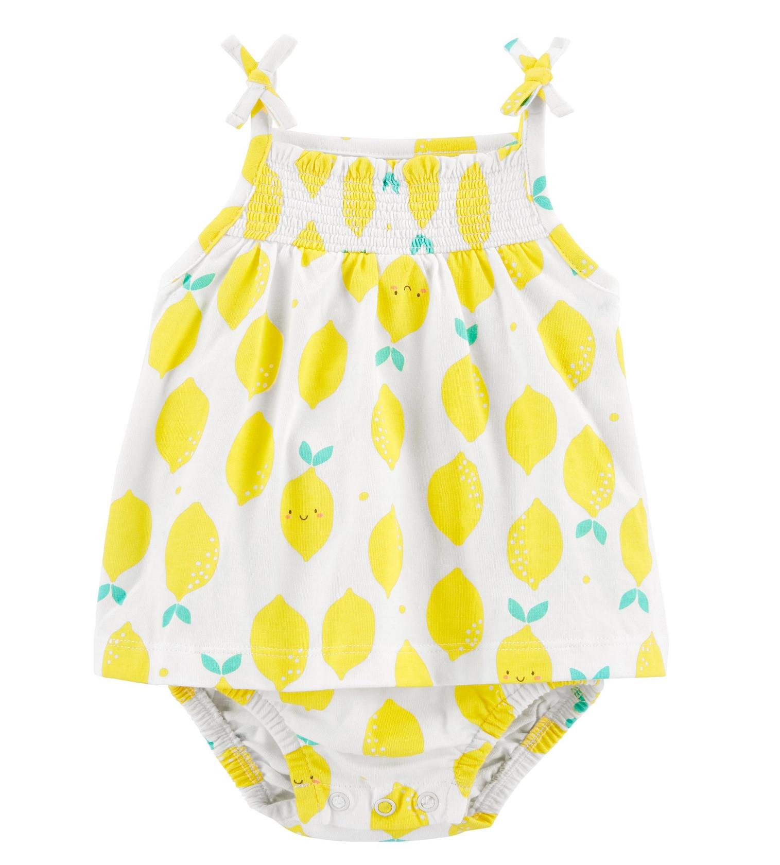 Купити Пісочник (Ромпер) Carters Lemon Yellow - фото 1