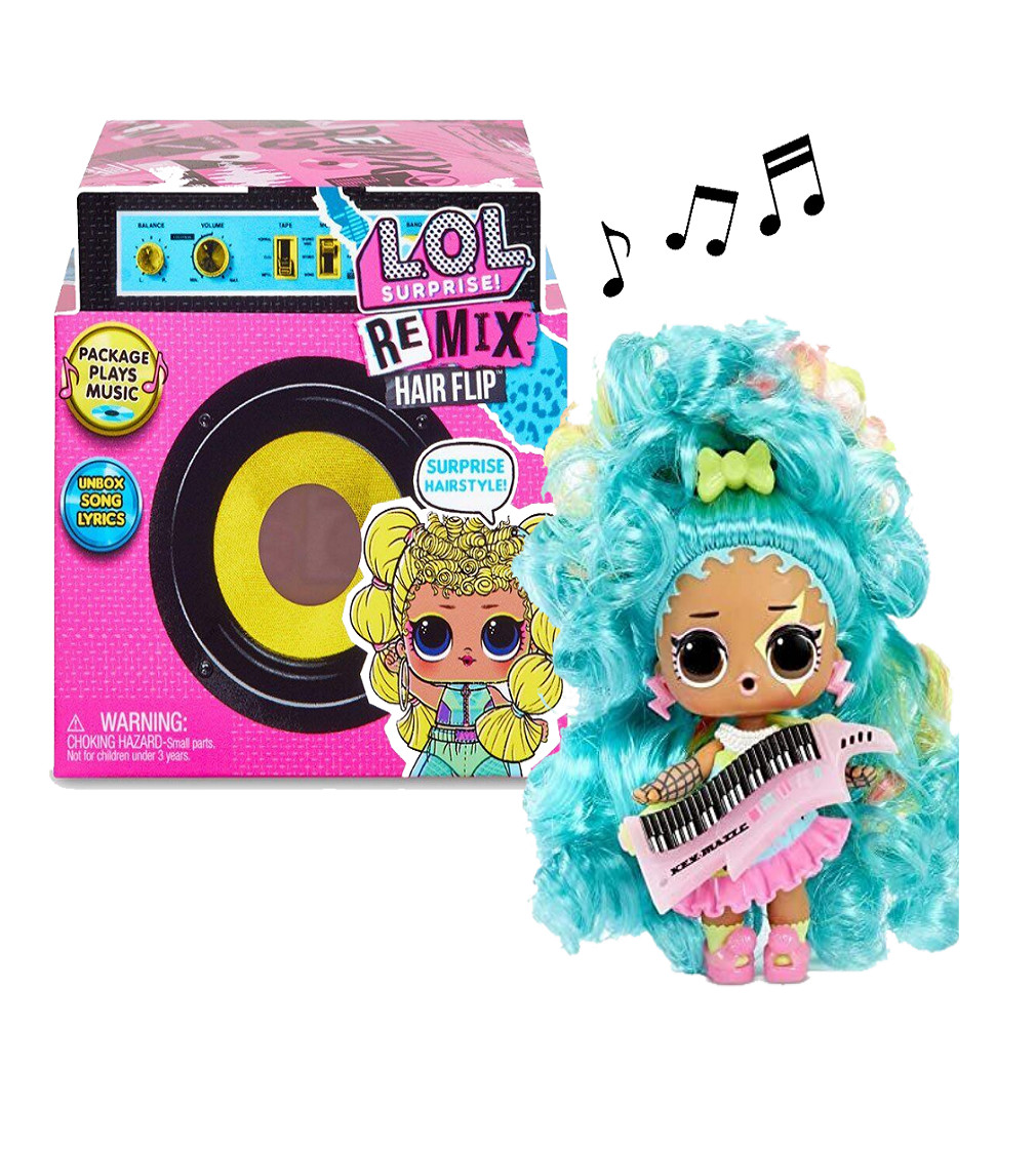 Купити Ігровий набір L.O.L. Surprise Музичний сюрприз Remix Hairflip - фото 1