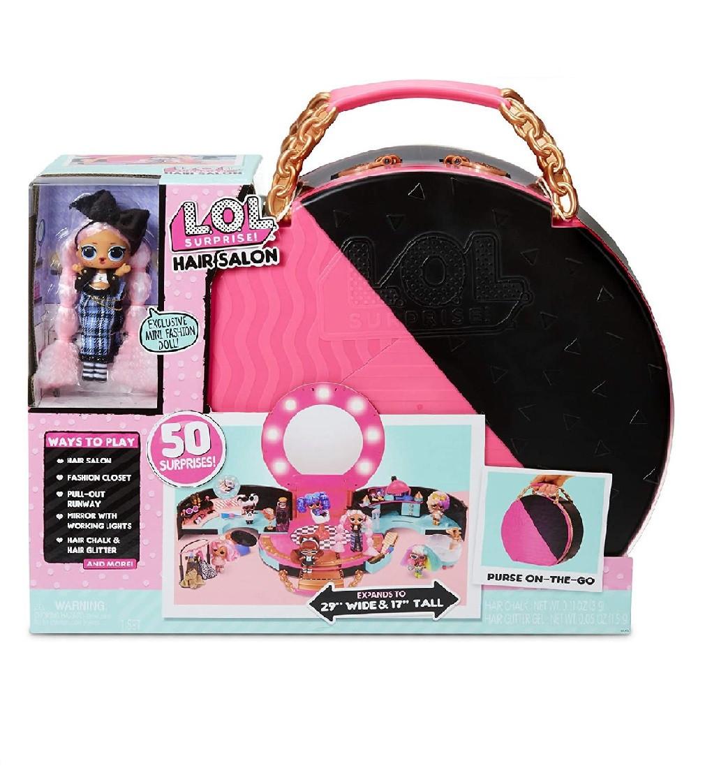 Купити Ігровий набір ЛОЛ Сюрприз Салон Краси Оригінал L.O.L. Surprise! Hair Salon Playset - фото 1