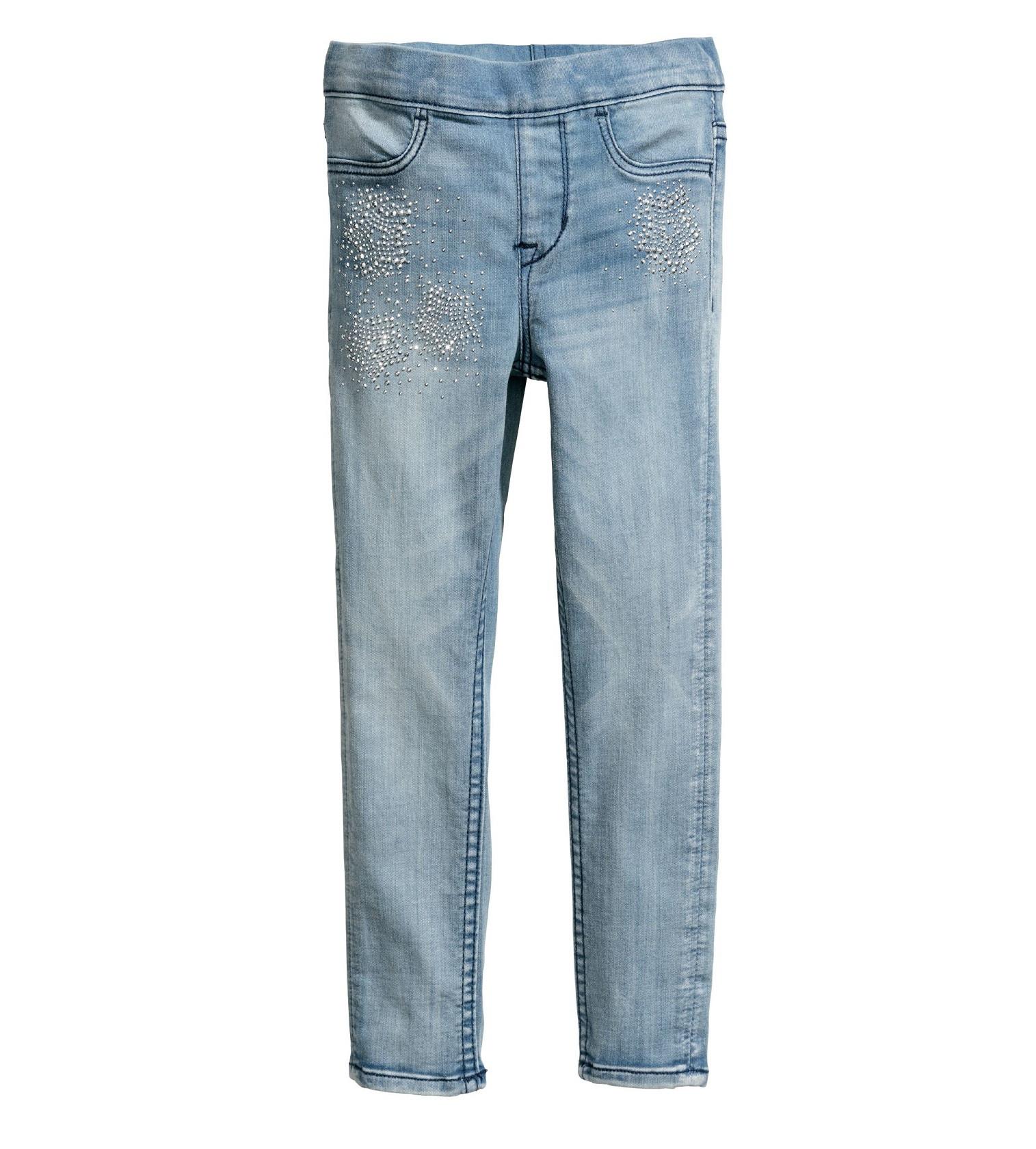 Купити Джинси H&M Блакитний денім / Зірки - фото 1