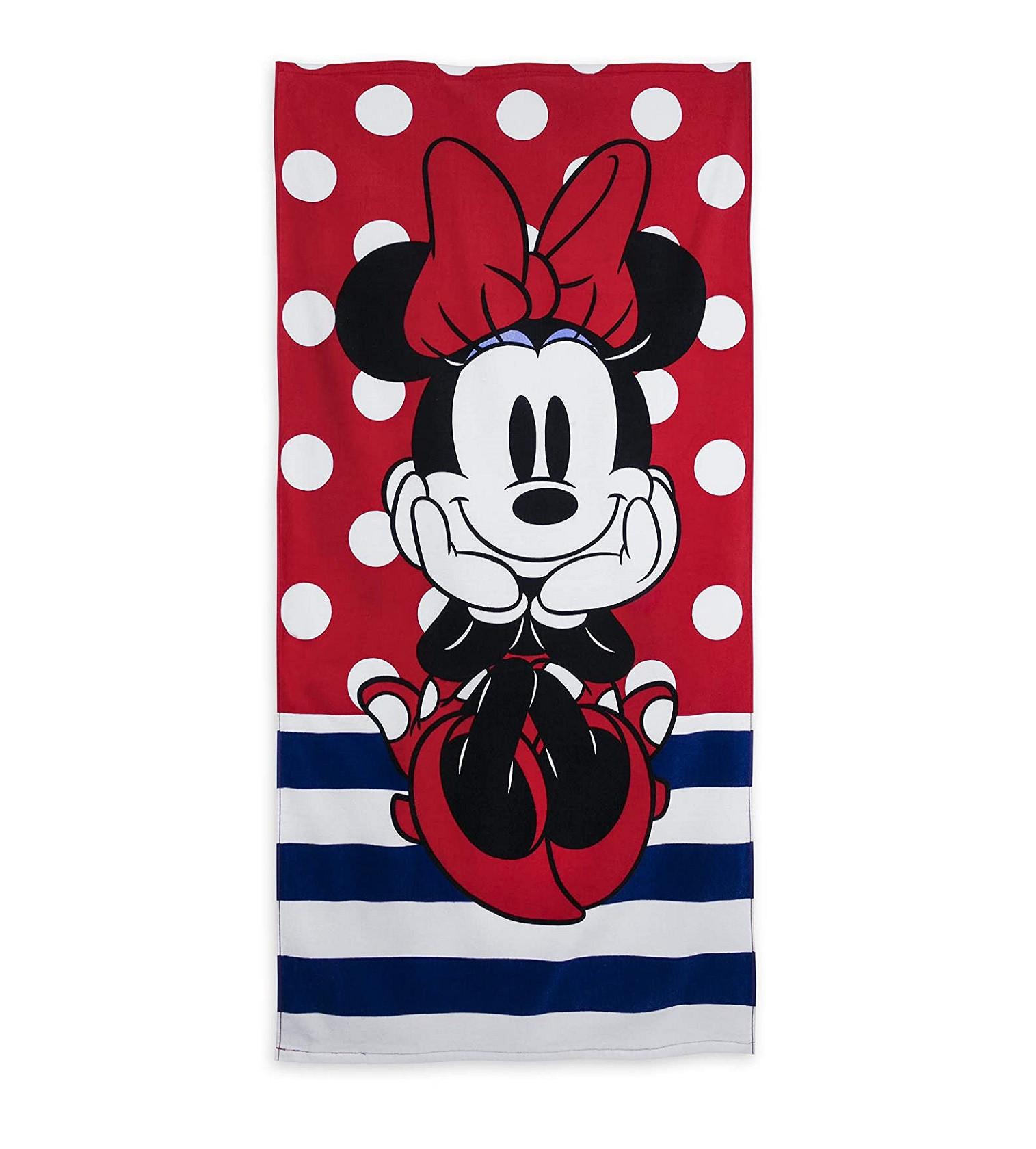 Купити Дитячий махровий рушник Disney Minnie Mouse Red - фото 1