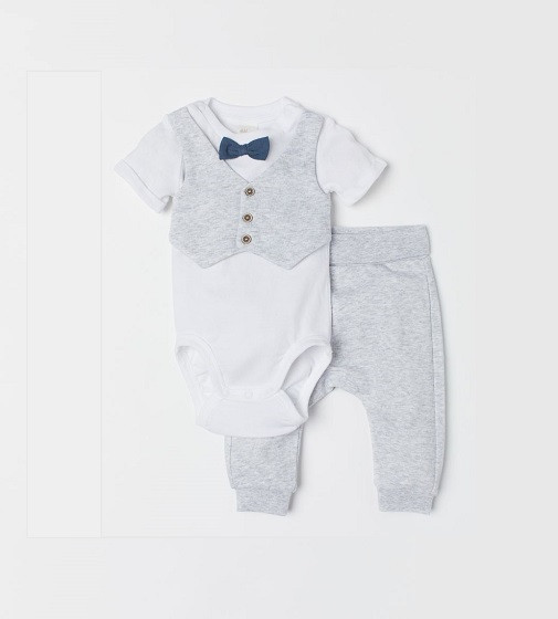 Купити Нарядний набір Bodysuit and Pants H&M 0701833001 - фото 1