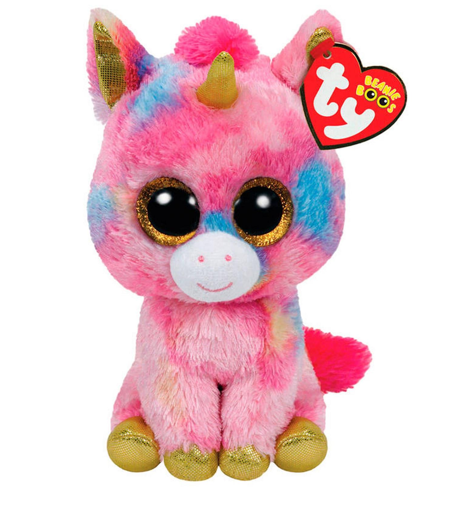 Купити М'яка іграшка TY Beanie Boo's Єдиноріг Fantasia - фото 1