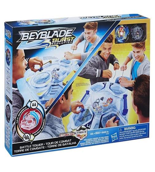Купити Ігровий Набір Арена Бейблейд Еволюція Бойова вежа - Beyblade Burst Evolution Switchstrike Battle Tower (Е2393) - фото 1