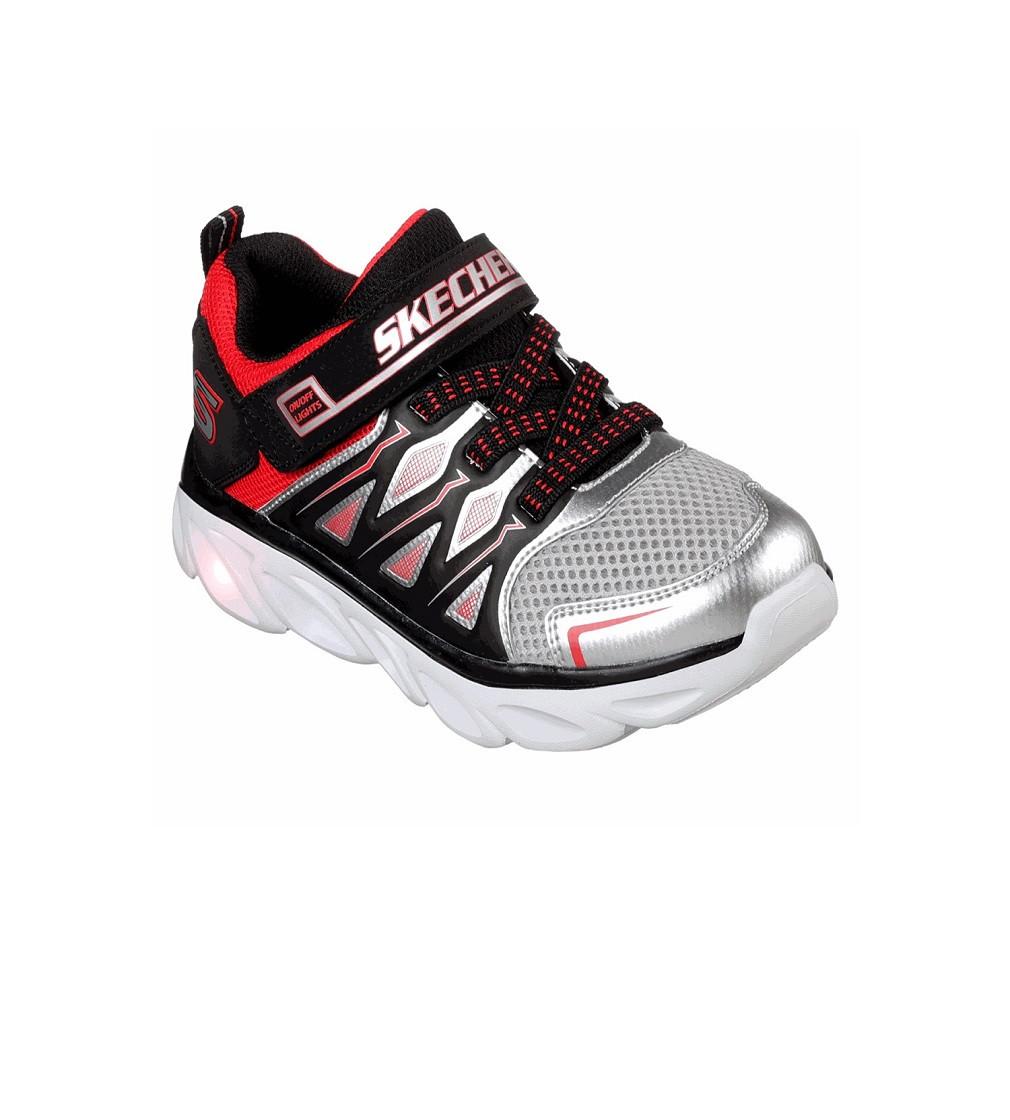 Купити Кросівки Skechers S Lights: Hypno-Flash: Red Silver - фото 1