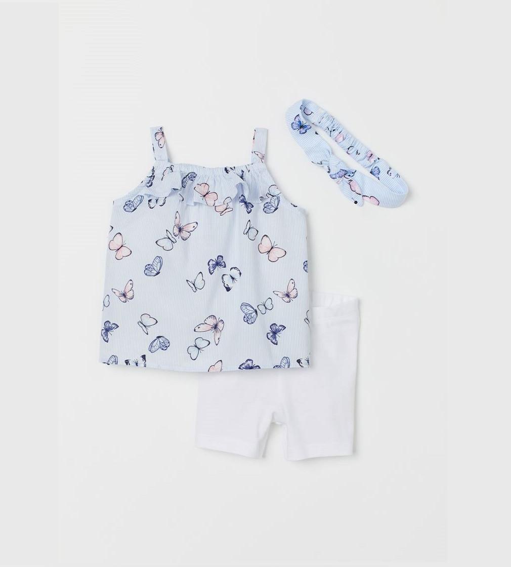 Купити Набір H&M Light blue/butterflies - фото 1