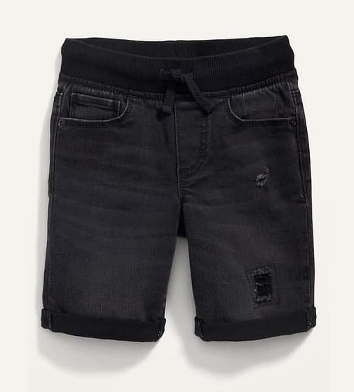 Купити Шорти джинсові Old Navy Karate Rib-Knit BlackJack - фото 1