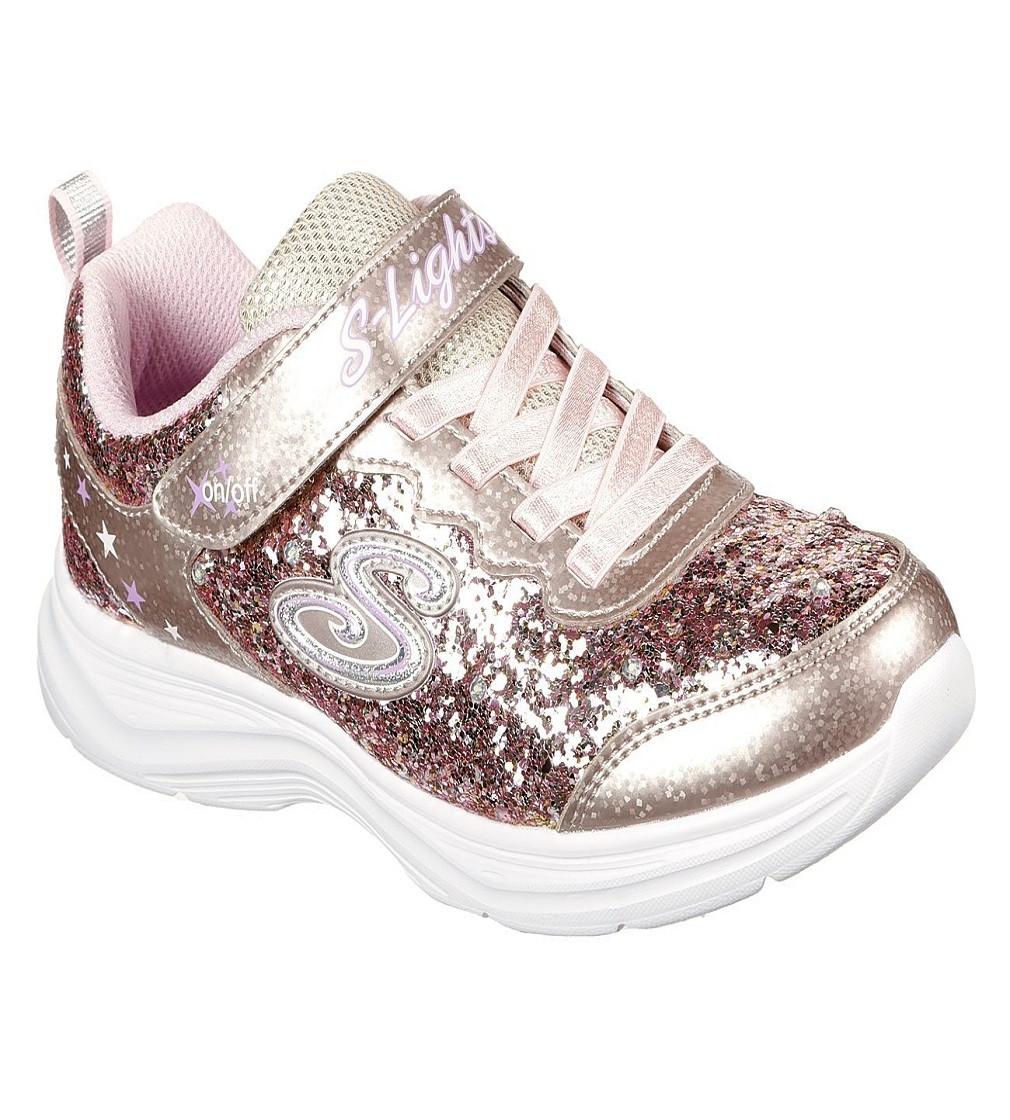 Купити Кросівки Skechers Glimmer 20267L-GDPK: Rose Gold - фото 1