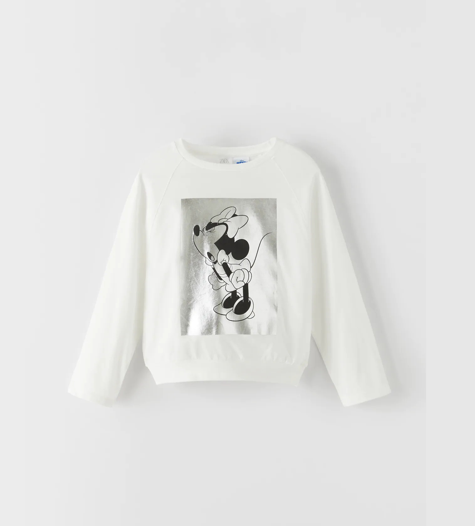 Купити Реглан Zara з принтом  «МИННИ МАУС» © DISNEY - фото 1