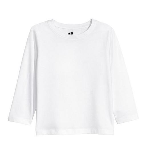 Купити Реглан H&M Білий Basic - фото 1