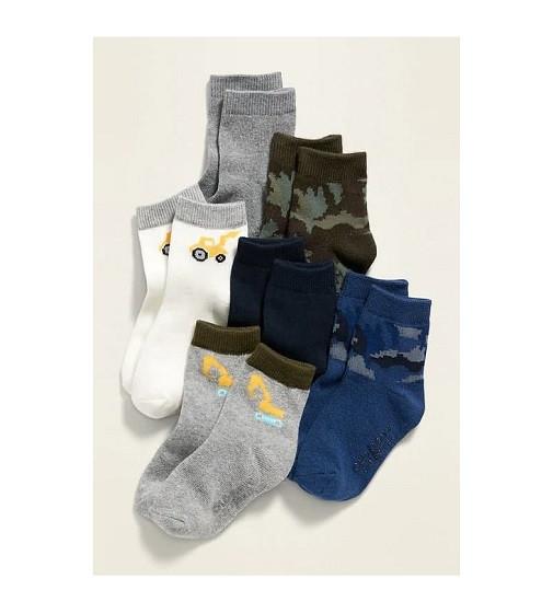 Купити Набір шкарпеток 6-Pack Printed Crew Socks Old Navy (614138) - фото 1