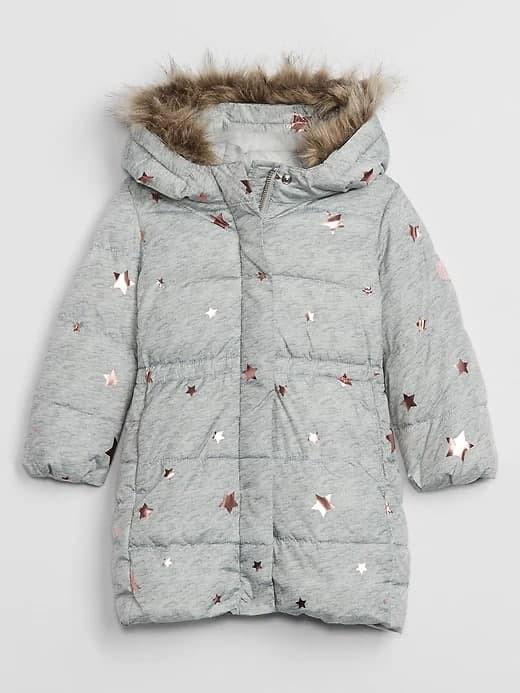 Купити Пальто зимове Зірочки - фото 1