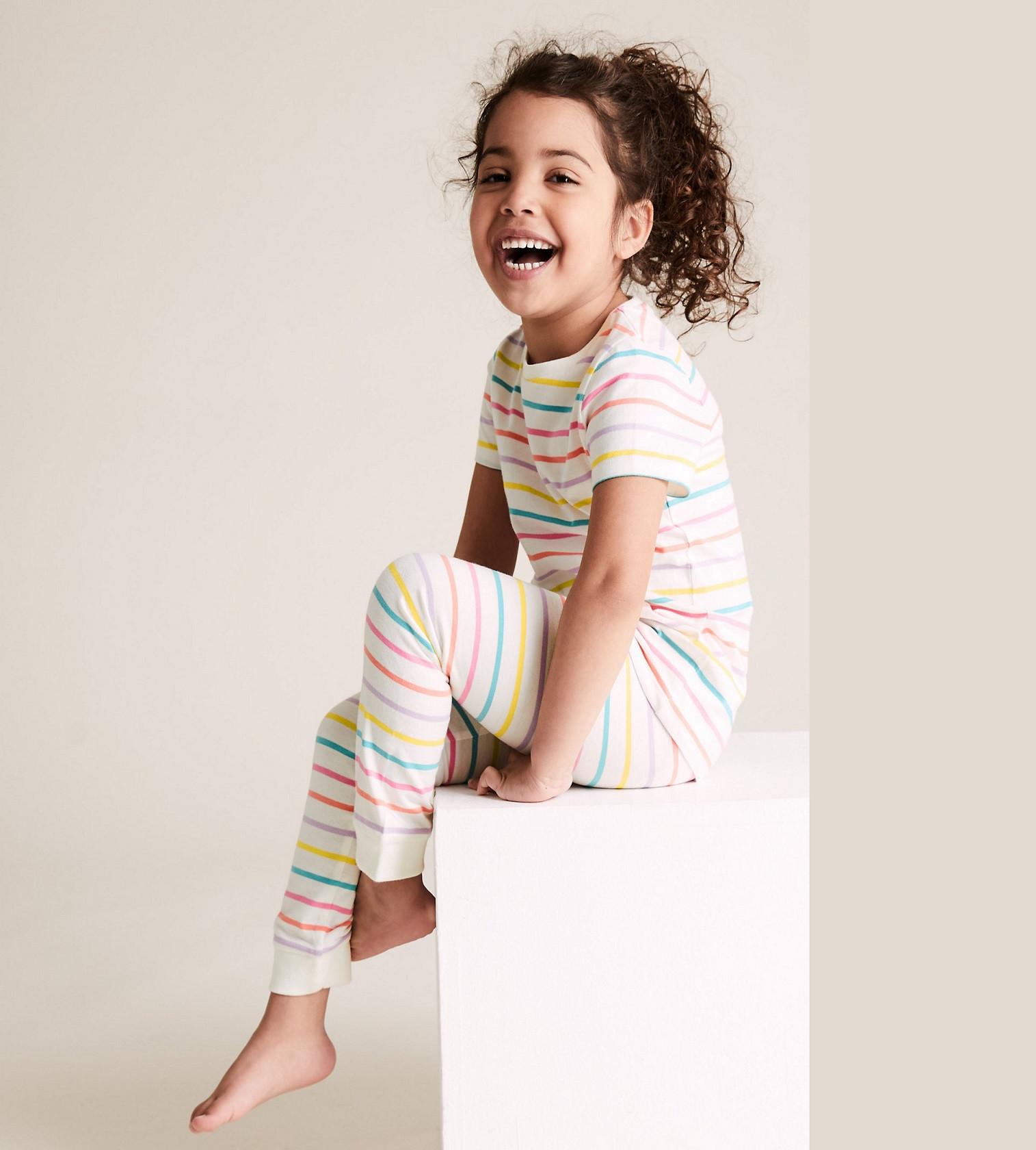 Купити Піжама M & S Cotton Смужка - фото 1