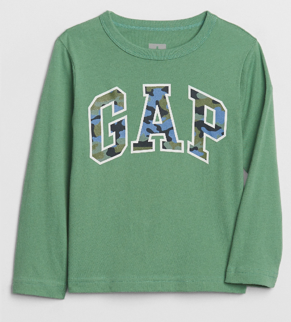 Купити Реглан Gap з принтом камуфляжного логотипу - фото 1