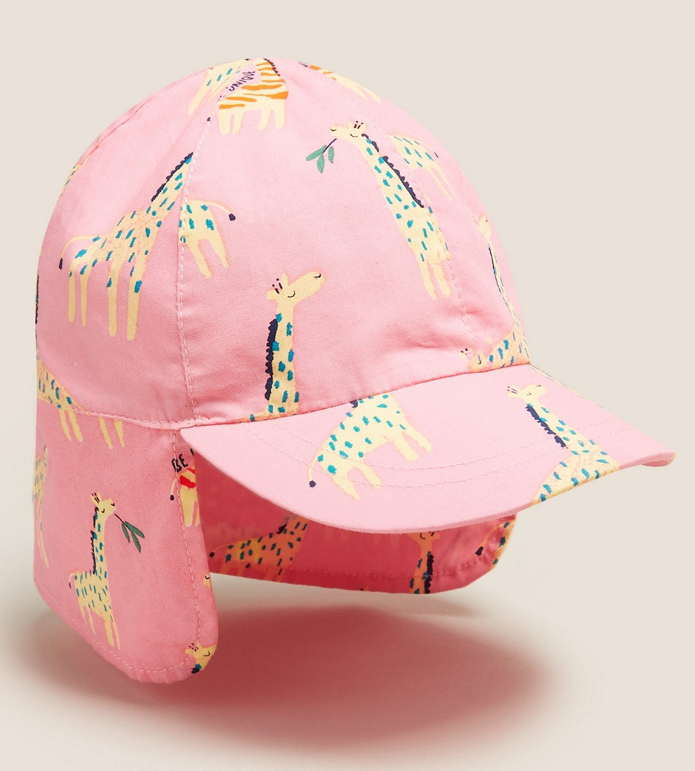 Купити Кепка M&S Giraffe Pink - фото 1