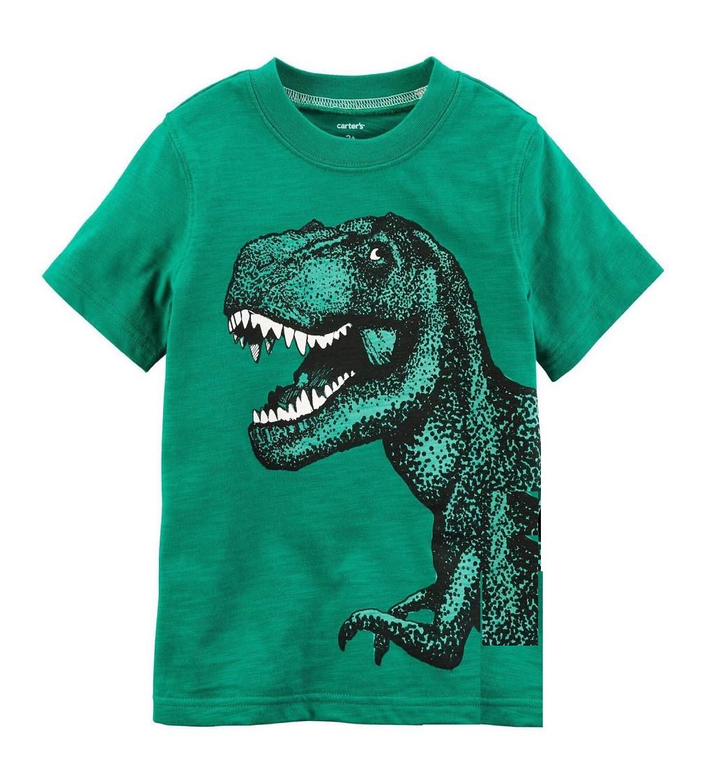 Купити Футболка Carters Green Dino - фото 1