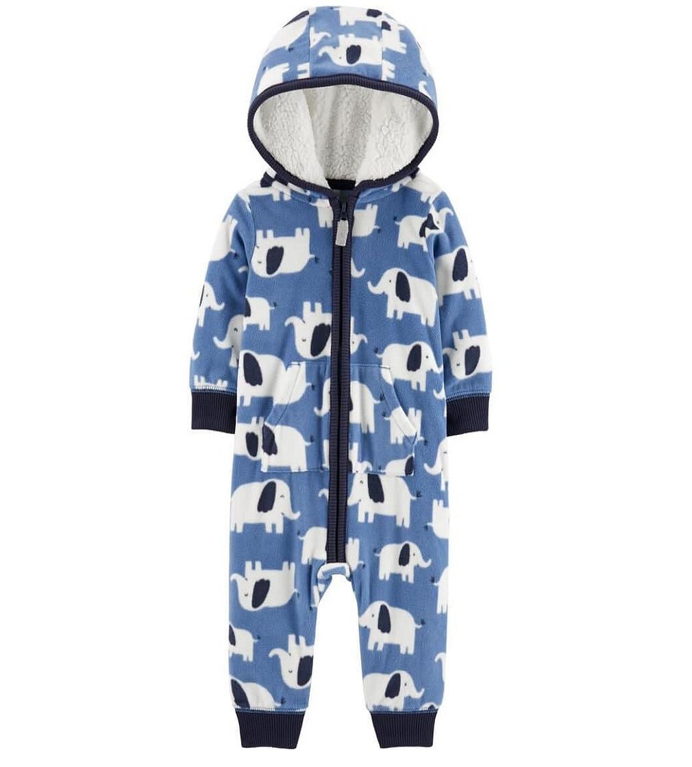 Купити Комбінезон флісовий Carters Elephant Hooded Fleece: Multi - фото 1