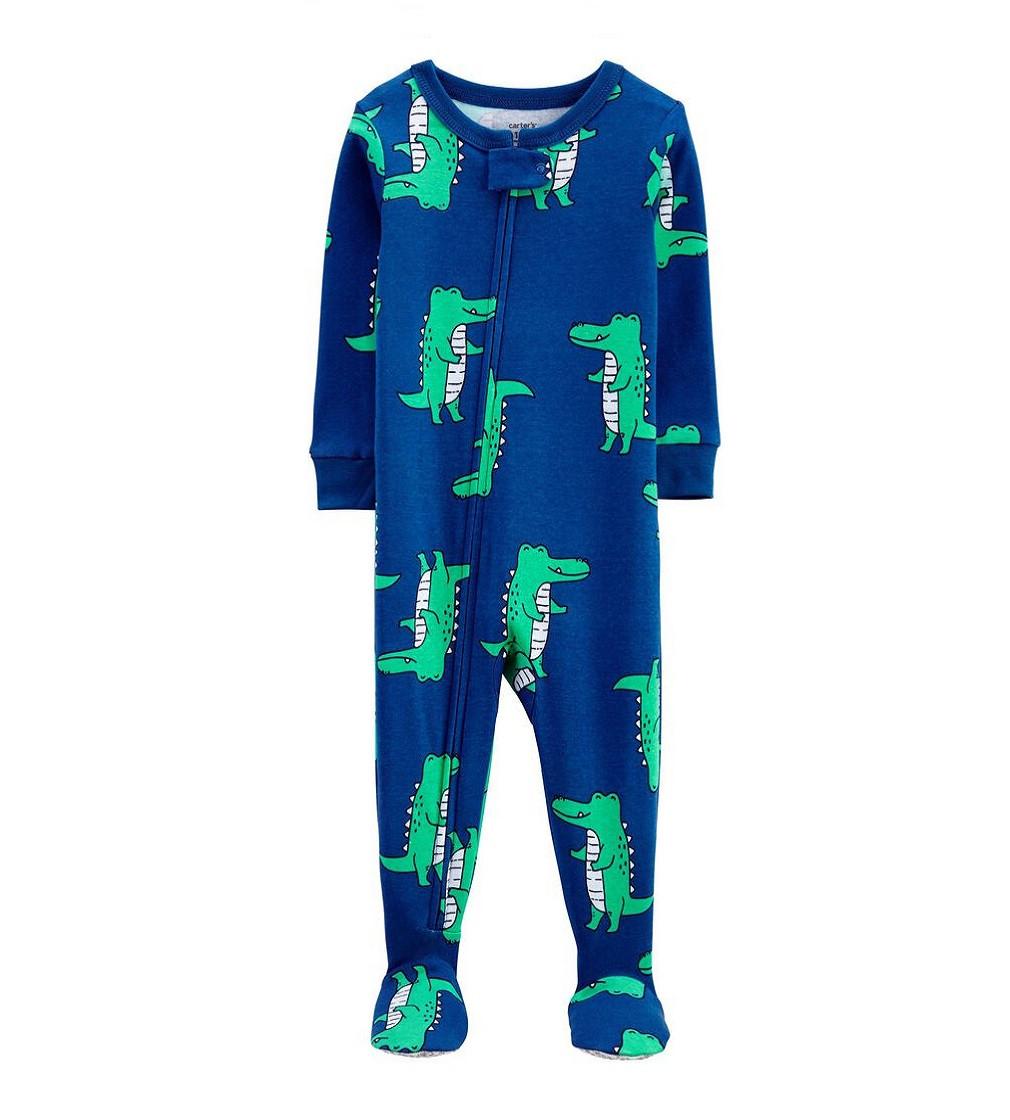 Купити Сліп Carters Alligator 100% Snug Fit Cotton: Navy - фото 1