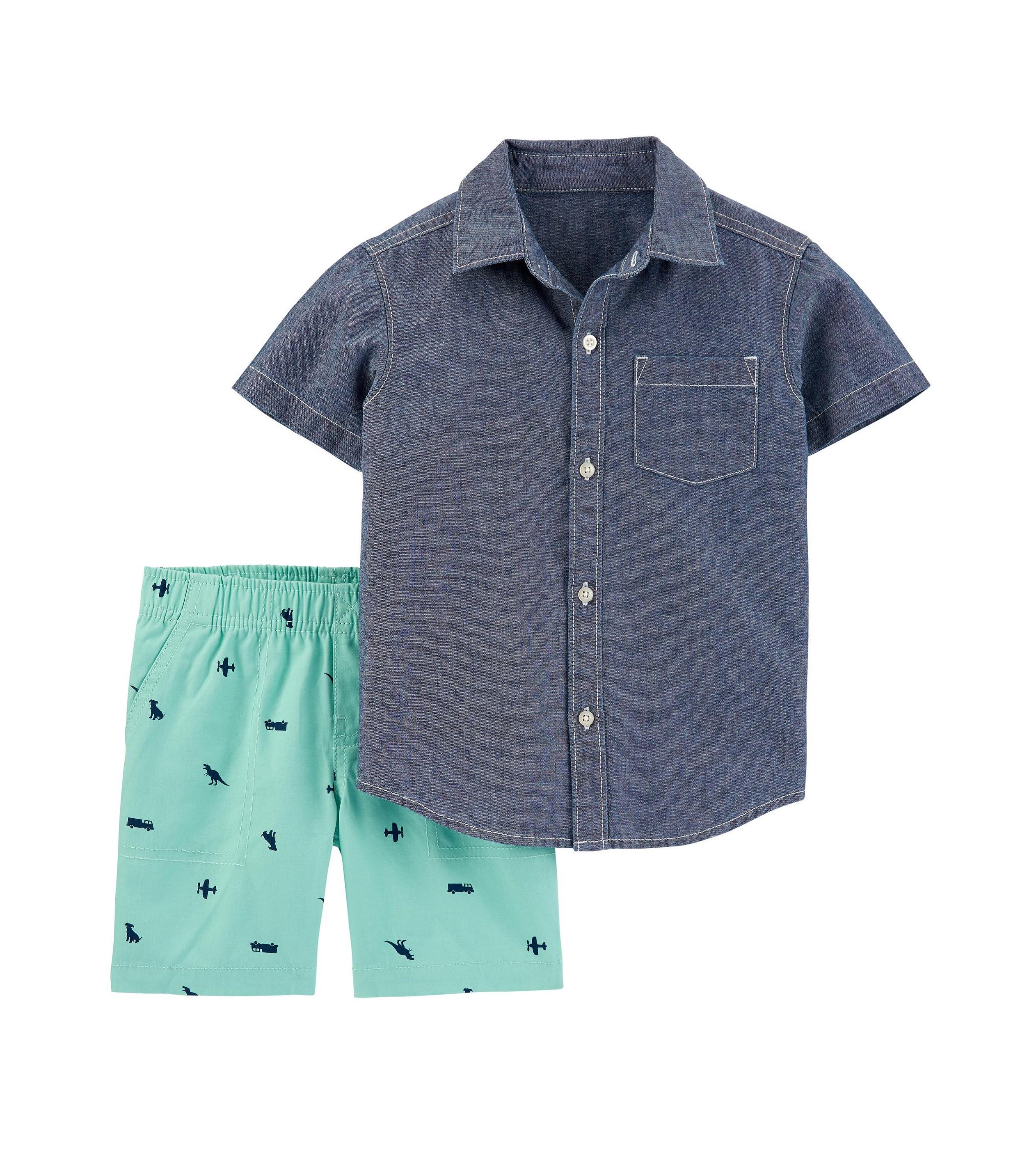 Купити Набір Carters Chambray Blue/Turquoise - фото 1