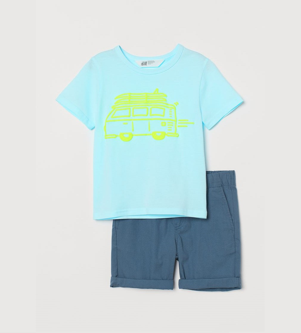 Купити Набір H&M Блакитний / Темно-синій - фото 1