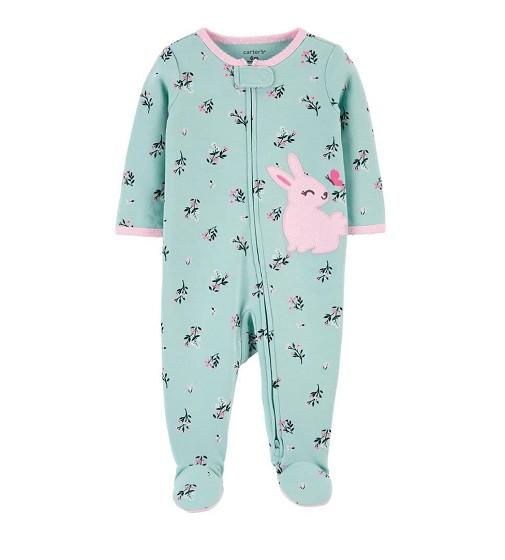 Купити Сліп Bunny 2-Way Zip Cotton Sleep & Play Carters (1j935410) - фото 1