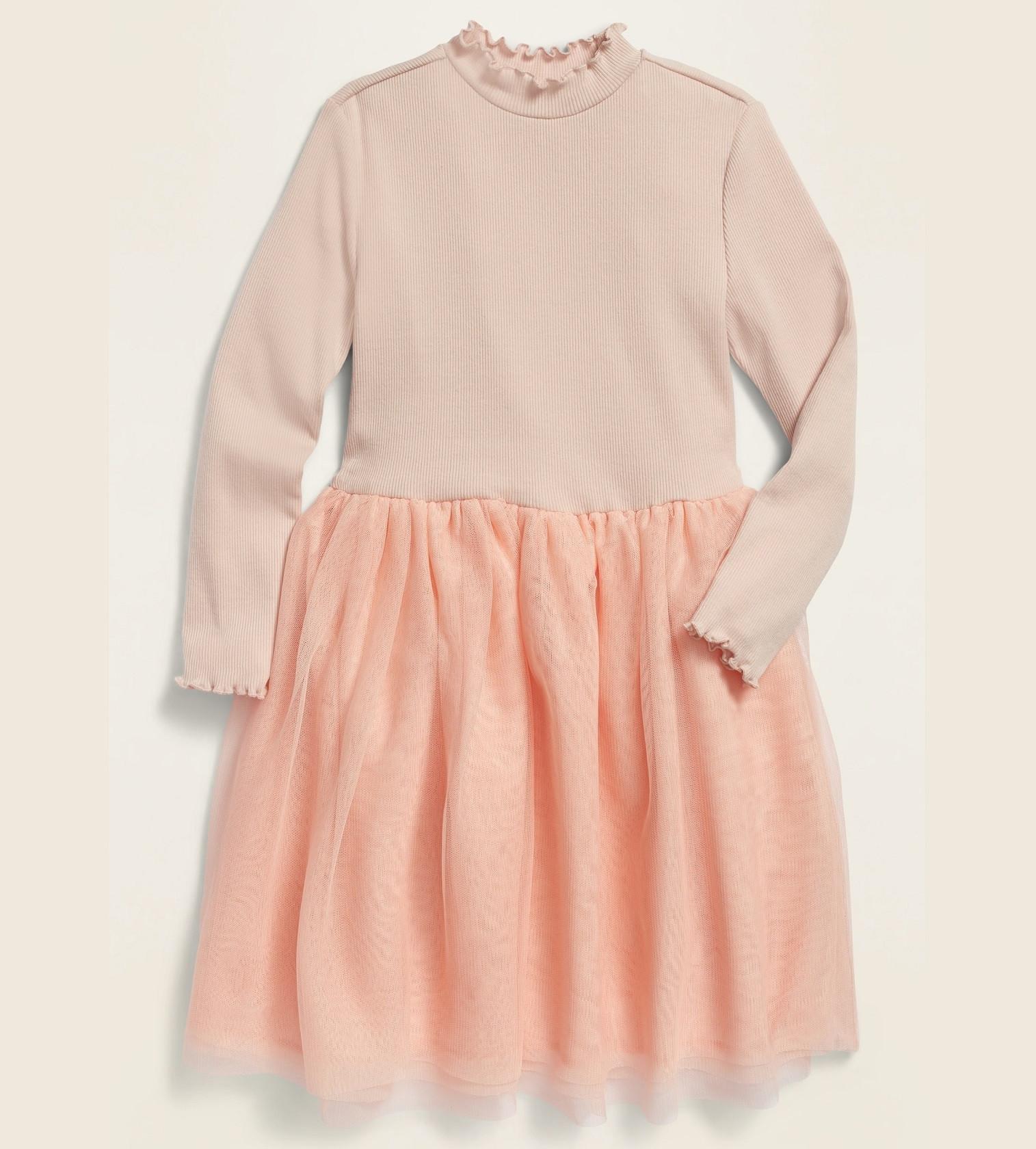 Купити Сукня Old Navy Rib-Knit Tutu: Shell Pink - фото 1