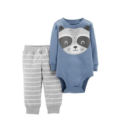 Купити Набір 2в1 Bodysuit Pant Set Carters (121i555) - фото 1