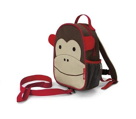 Купити Рюкзак маленький з повідцем Мавпочка - фото 1