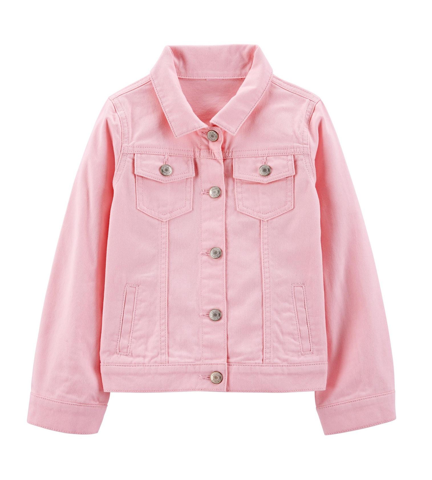 Купити Джинсова куртка Carters Pink - фото 1