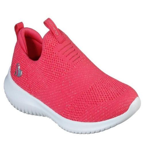 Купити Кросівки Сліпони Skechers Ultra Flex - Fluorescent Fun Neon Coral - фото 1