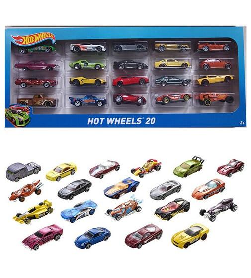Купити Набір машинок Хот Вілc 20 шт Hot Wheels 20-Car Gift Pack Mattel (H7045) - фото 1