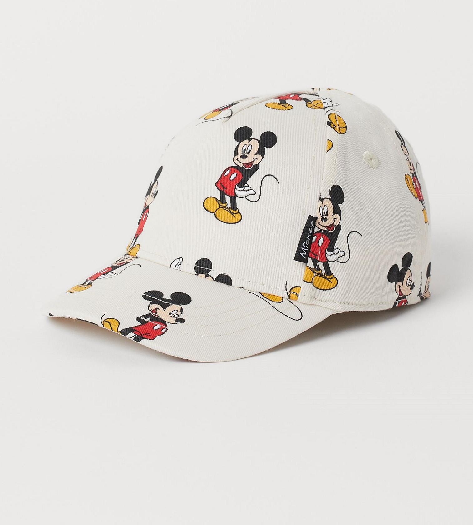 Купити Кепка H&M Natural white/Mickey Mouse - фото 1